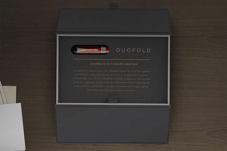 duofold pen in packaging